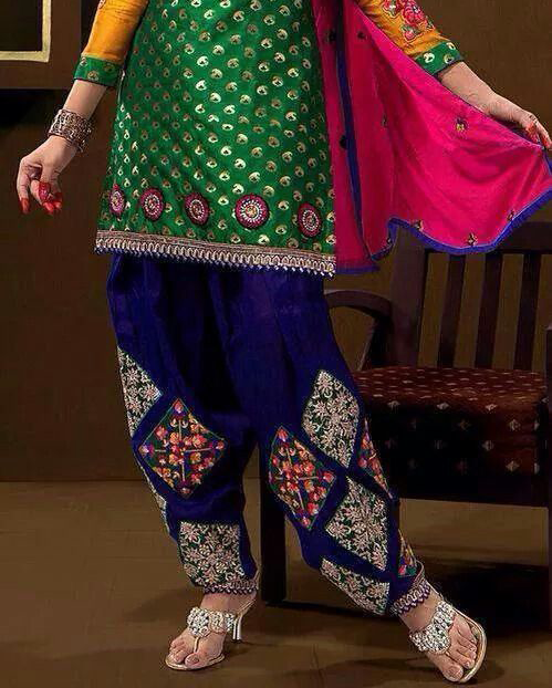 Best-out-of-waste-Bottoms-simple-salwar
