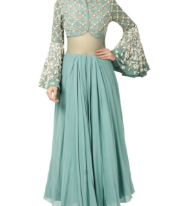 Best-out-of-waste-anarkalis-ankle-length-maxi-wide-flare-anarkali
