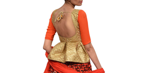 best-out-of-waste-blouses-stylish-blouse-waist-cot-style-blouse-design-2