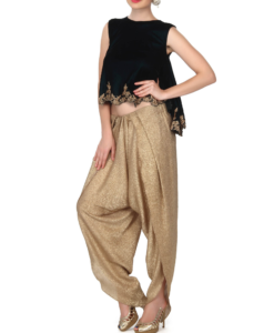 Best-out-of-waste-bottoms-salwar-aladdin-salwar-2