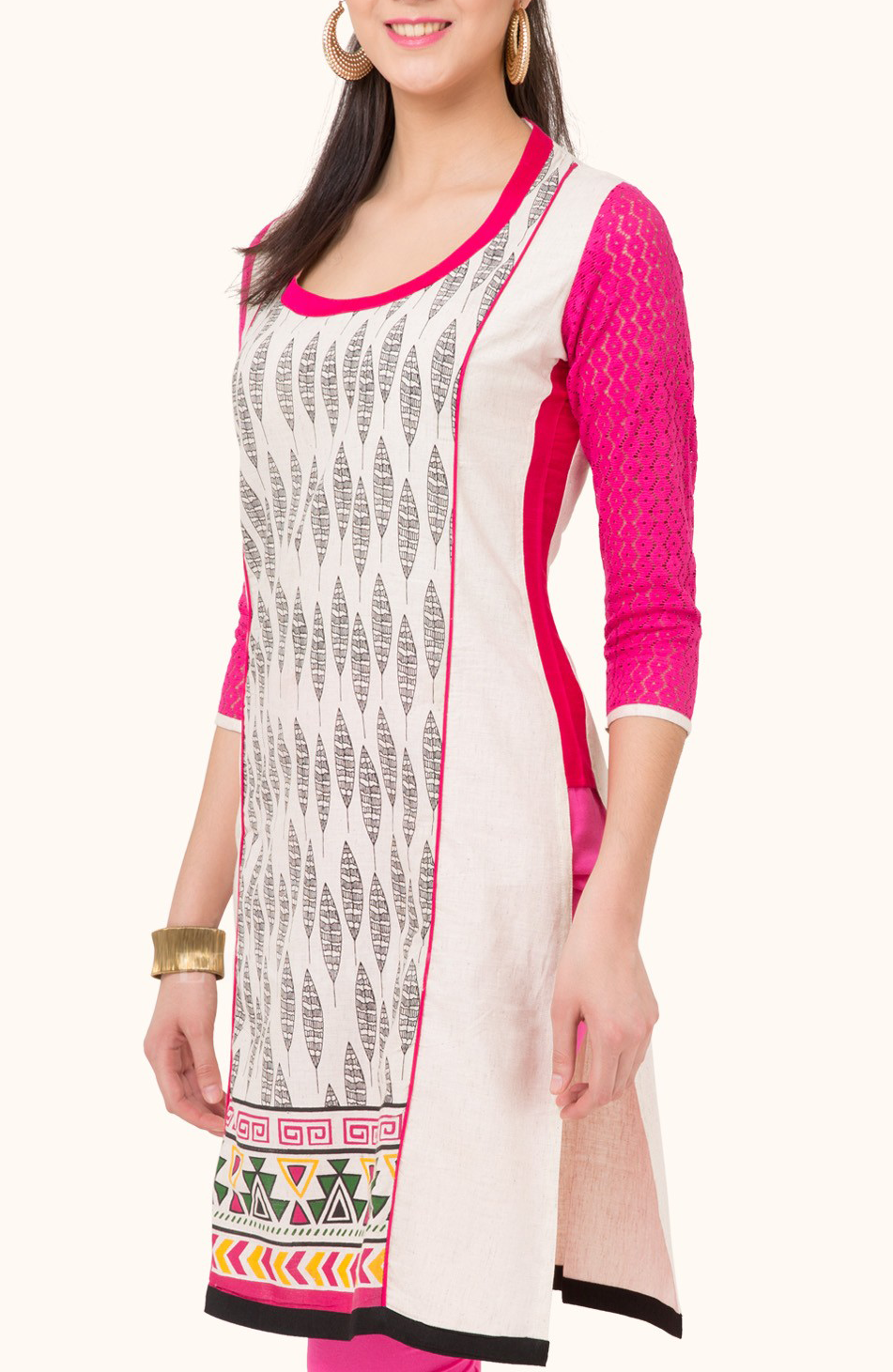 best-out-of-waste-kurtis-ankle-length-princess-cut-kurti-1