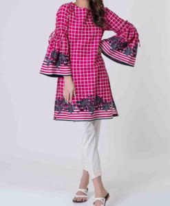 Best-out-of-waste-kurtis-knee-length-casual-kurti