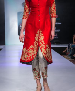 Best-out-of-waste-kurtis-knee-length-indo-western-style-kurti