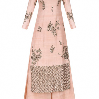 Best-out-of-waste-salwar-kameez-straight-kurti-with-palazzo