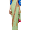 Best-out-of-waste-sarees-border-style-saree
