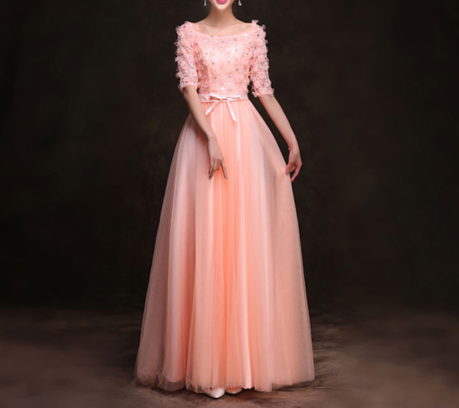 Best-out-of-waste-stand-outs-evening-gown-stylish-pattern