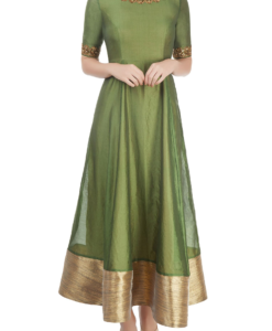 Best-out-of-waste-anarkalis-calf-length