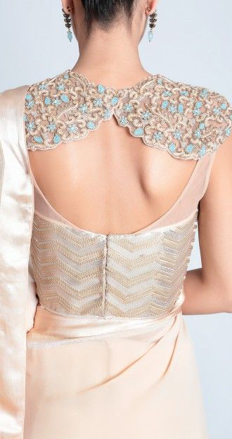 best-out-of-waste-blouses-saree-blouse-with-designer-back-pattern-2