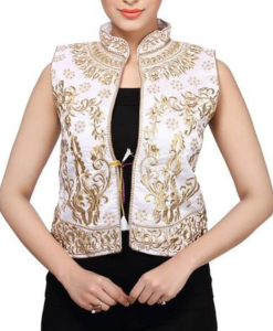 Best-out-of-waste-ethnic-jackets-waist-length-jackets