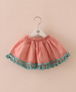 Best-out-of-waste-kid-wear-for-girls-short-skirt