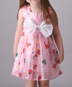 Best-out-of-waste-kids-wear-for-girls-Printed-casual-frock