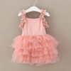 Best-out-of-waste-kids-wear-for-girls-casual-frock-with-frill-front