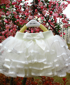 Best-out-of-waste-kids-wear-for-girls-layered-skirt