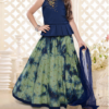 Best-out-of-waste-kids-wear-for-girls-lehenga-with-peplum-style-choli