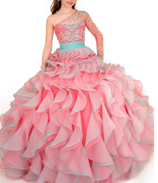 best-out-of-waste-kids-wear-for-girls-princess-gown