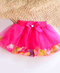 Best-out-of-waste-kids-wear-for-girls-printed-stylish-skirt