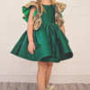Best-out-of-waste-kids-wear-for-girls-simple-frock-with-designer-sleeves-front