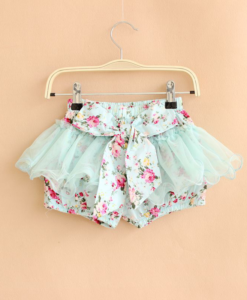 Best-out-of-waste-kids-wear-of-girls-shorts-type-skirt