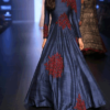 best-out-of-waste-standouts-elegant-evening-gown-with-flare