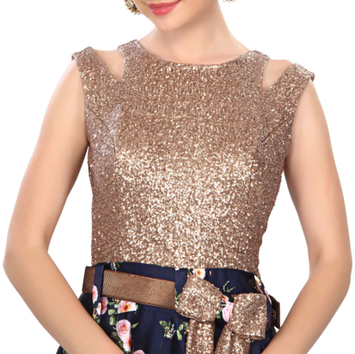 best-out-of-waste-standouts-evening-gown-with-belt-pattern-2