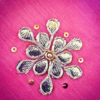 Best-out-of-waste-works-gotapatti-design-of-flower
