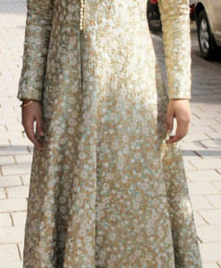 Best-out-of-waste-anarkalis-floor-length-anarkali-in-sherwani-pattern