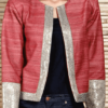 best-out-of-waste-jackets-waist-length-jacket-with-standup-collar-pattern