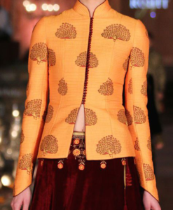 Best-out-of-waste-jackets-waist-length-koti-with-front-open
