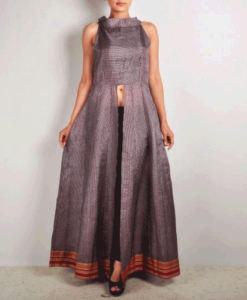 best-out-of-waste-kurtis-front-cut-with-choli-pattern