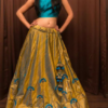 Best-out-of-waste-lehengas-circular-style-with-full-flare