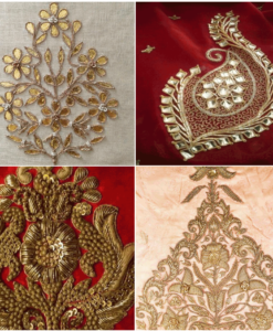 Works: Danka, Pitta, Gotapatti, Zardosi, Borders, Embroideries