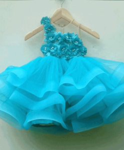 best-out-of-waste-kids-party-frock-with-design-on-one-shoulder