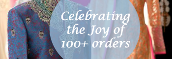 Happiness of 100+ orders…