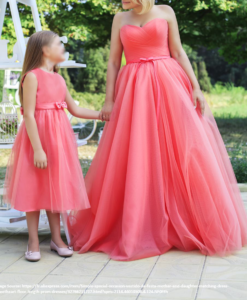 Best-out-of-waste-mom-and-daughter-evening-gown-design