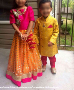 Best-out-of-waste-sister-lehenga-set-with-brother-sherwani-design
