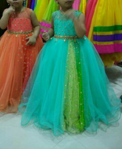 Best-out-of-waste-sisters-evening-gown-design