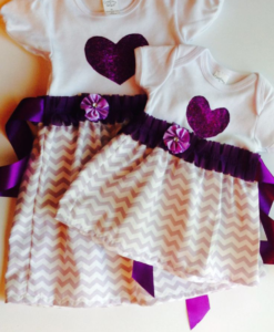 Best-out-of-waste-sisters-frock-design