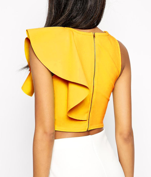 Best--out-of-waste-tops-stylish-crop-top-design-back