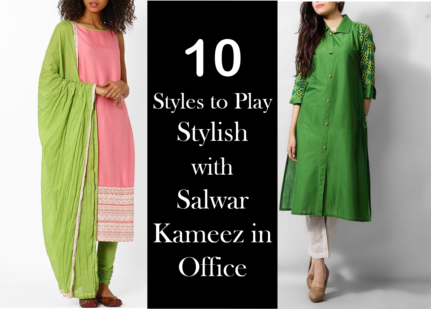 10 Styles to Play Stylish with Salwar Kameez in Office