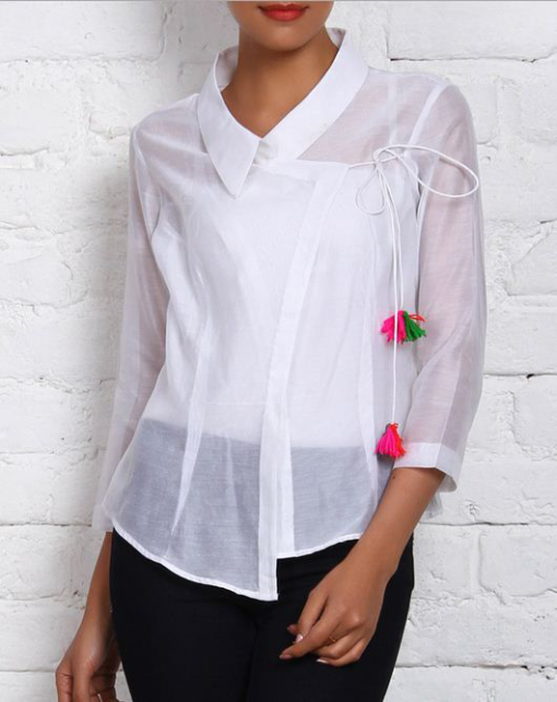 Best-out-of-waste-tops-angrakha-style-top